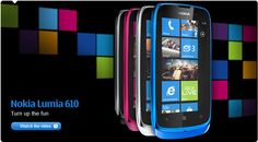 Nokia Lumia 610  Best Budget Smartphone Winner at MobileWorld Congress 2012