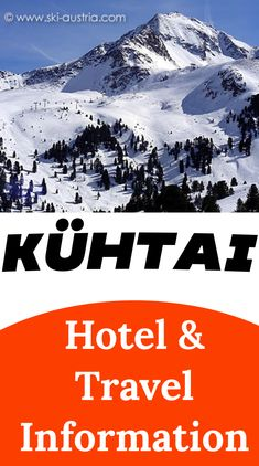 Discover the closest airport to Kuhtai, find out about the best travel options for the village and pick a perfect place to stay in the small Austrian ski resort. Ski Austria, Austria Winter, Austrian Ski Resorts, Skiers, Innsbruck, Top Hotels, Previous Year, Travel Information, Traveling