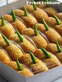 Donut Recipes, Snack Recipes, Cooking Recipes, Snacks, Rice Recipes, Malaysian Dessert, Asian Cake, Indonesian Cuisine, Western Food