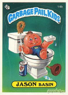 Jason Basin - Garbage Pail Kids