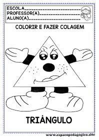 Atividades Figuras Ou Formas Geometricas Para Colorir E Fazer