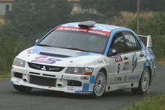 Mientras los frenos aguantaron, 'Rantur' lideró el Orense 2006 con el EVO IX de grupo N por delante de los Súper 1600