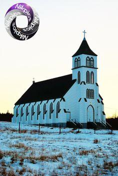 Oldest Catholic Church in Newfoundland. Newfoundland Canada, Newfoundland And Labrador, Old Catholic Church, East Coast Travel, Old Country Churches, Atlantic Canada, Church Architecture, Church Building, Prince Edward Island