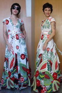 Urbanika Moda: Vestidos largos de verano / Long summer dress Vestidos Halter, Dresses, Fashion, Templates, Long Gowns, Summer Time, Feminine, Vestidos, Moda