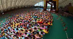 piscinas públicas bañistas China