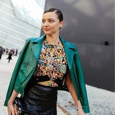 Baroque prints, a bold biker jacket and sleek side-slicked hair: what better fashion recipe for a Saturday night out? Hit up Italist.com for a fresh fix of bold separates to help you stand apart.