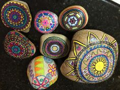 Fun making Mandala's