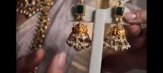 Gold Jewellery Design, Gold Jewelry, India Jewelry, Ear Rings, Antique Jewelry, Drop Earrings, Antiques, Old Jewelry, Antiquities