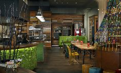 Nando's South African/Portugeuse restaurant in Canada  http://www.hospitalitydesign.com/projects/restaurants/Nandos-Bay-Street-T-11094.shtml#2