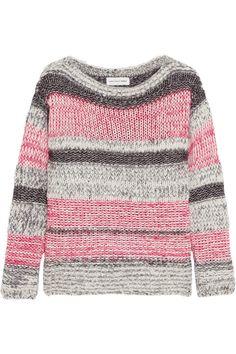 Étoile Isabel Marant|Striped cotton-blend sweater|NET-A-PORTER.COM