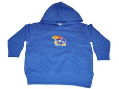 Kansas Jayhawks Two Feet Ahead Toddler Blue Fleece Hoodie Sweatshirt