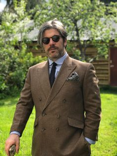 A gorgeous double breasted tweed suit that we made for rock star Ed Harcourt Incredible Film, Paloma Faith, Bespoke Clothing, Tweed Suits, Bespoke Suit, Beastie Boys, Piece Of Music, Teenage Years, Cashmere Wool