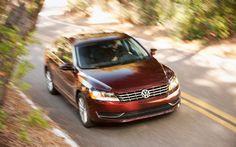 Our 2012 Volkswagen Passat SEL in motion.