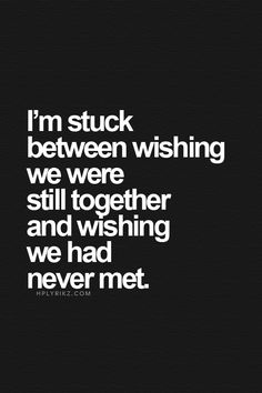 Never met for sure