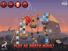 Angry Birds Star Wars II game released for Kindle Fire – details, download (Free/Paid), gameplay trailer video – use the Force for good against the greedy Pork Federation or choose a much darker path.