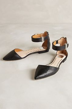 Augusta D'Orsay Flats - anthropologie.com