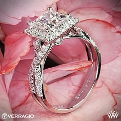 Dear future husband: This one. Love, me - Verragio Princess Cut Diamond Ring
