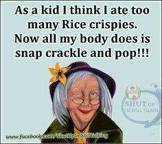 This is so my friend Emma she eats a lot of rice cripies treats☺️ Senior Humor, Kids Watercolor, Good Humor, Crazy Humor, Disney And More, Smiles And Laughs, Aging Gracefully, Shut Up, Funny Kids