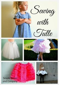 Satin and Tulle Skirt Tutorial - Simple Simon and Company
