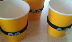 Minion drink cups