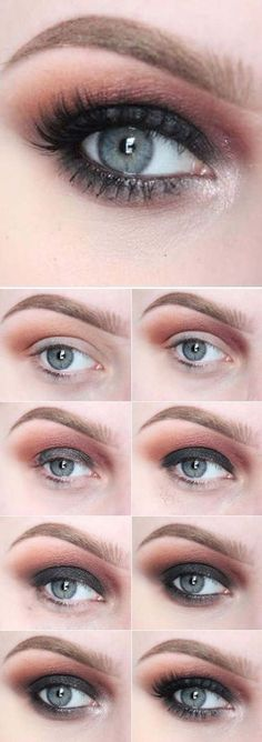 Sexy Eye Makeup Tutorials - Smoky Eyes For Warm Days - Easy Guides on How To Do Smokey Looks and Look like one of the Linda Hallberg Bombshells - Sexy Looks for Brown, Blue, Hazel and Green Eyes - Dramatic Looks For Blondes and Brunettes - thegoddess.com/sexy-eye-makeup-tutorials