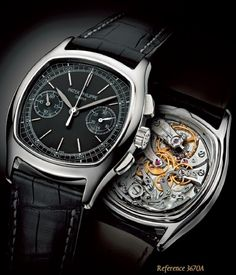The Patek Philippe 3670A: Suit Up.