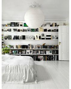 lush interiors: bookcase . . .