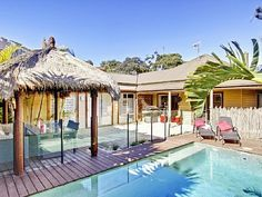 Bali style swimming pool - http://www.homeaway.com.au/holiday-rental/p935510 @homeawayau #terrigal #holiday #homeaway