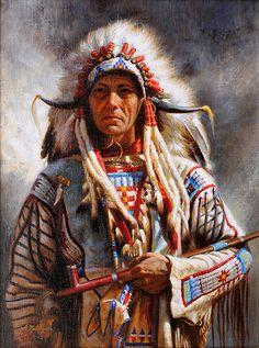 Chief Red Hawk - Alfredo Rodriguez