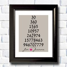 Printable Personalized Special Anniversary Art / by RomanticaHome