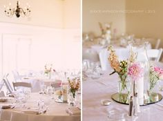 Wedding Reception in Sunset Room | Vintage Villas | Kate Anfinson Photography