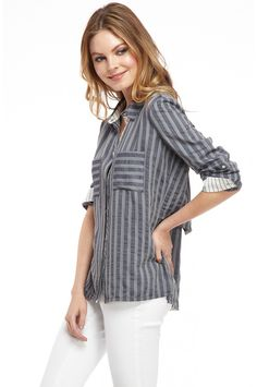 The Emily Button Down #denim #style