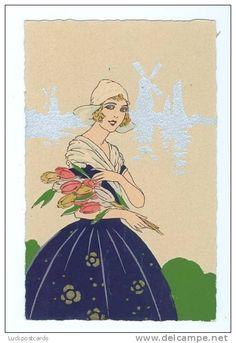 Art Deco Darling by Giovanni Meschini