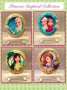 Princess cookies.  1 of 3