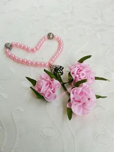 Pink flower tasbih .... inspiration and learn form nigar hikmet picture