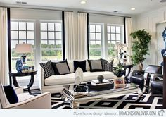 Ideas For Multiple Windows For The Home Living Room