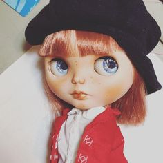 Blythe piccadilly core encore customized by me Jolly Roger dolls #blythe