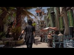 New Final Fantasy XV trailer shows off more crazy and weird road trip action | The Verge