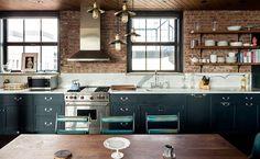 Kirsten Dunst's Apartment ... love the antique decor