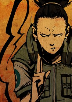 NARUTO:Shikamaru by GODTAIL.deviantart.com on @deviantART