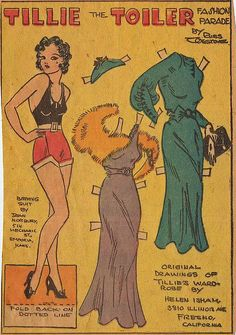 Tillie The Toiler was a working girl when most women were at home.
