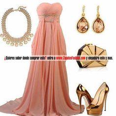 No es tanto el vestido como los accesorios!!