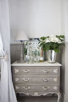 Modern Country Style: Swedish/French Style Victorian House Tour Click through for details. French Furniture, Refurbished Furniture, Furniture Makeover, Painted Furniture, Country Furniture, 1950s Furniture, Simple Furniture, Furniture Nyc, Wicker Furniture