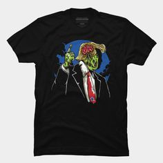 Make Zombie Great Again! Patriotic Killer is a T Shirt designed by MisfitInVisual and is available at Design By Humans Baseball Tees, Trending Fashion, Zombies, Tank Man, Shirt Designs, America, Store, Mens Tops, How To Make