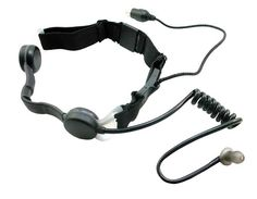 IASUS Concepts - NT3 Black OPS 2 Throat Mic System // Blue tooth connections allows for a wireless setup. Its ear-bud / vibration configuration allows coms without the risk of alerting nearby hostiles.