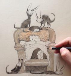 Cats by kei acedera