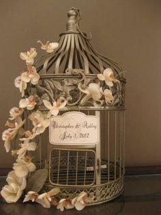 Fancy - Wedding Bird Cage Card Holder | Luulla