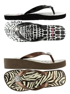New Brighton Flip Flops at Karalina's. Just in time for this warm weather.
