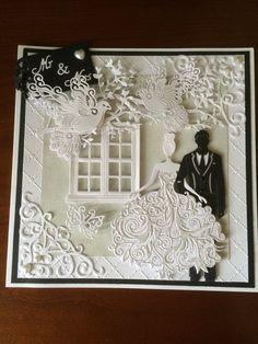 Made by Karen Bradley #tatteredlace #weddings