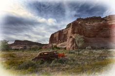 Route 66, Lupton, Arizona.